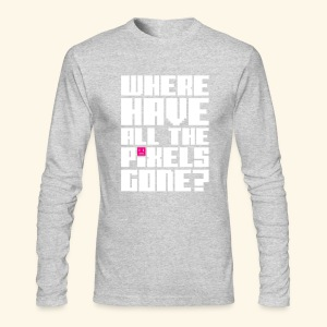 Where have all the pixels gone? - Men's Long Sleeve T-Shirt by Next Level