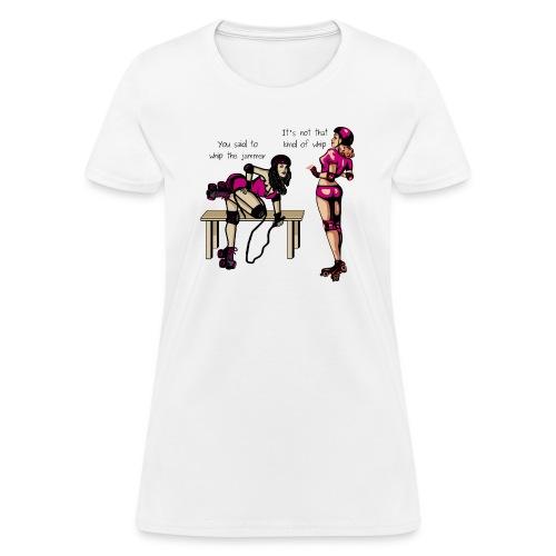 Roller Girl Conversation Tee - Women's T-Shirt