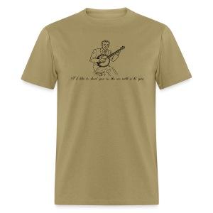 i'd like to shoot you in the ass with a bb gun t-shirt - Men's T-Shirt