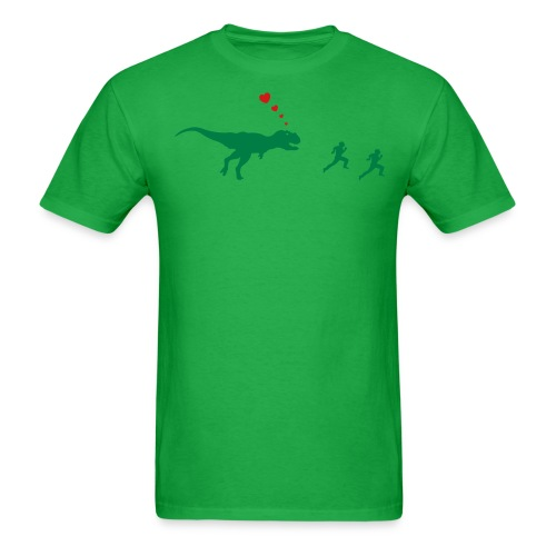 Dino love - Men's T-Shirt