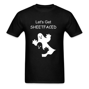 Lets get Sheetfaced...Halloween  - Men's T-Shirt