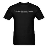 T-Shirts ~ Men's T-Shirt ~ Our videos make you cool