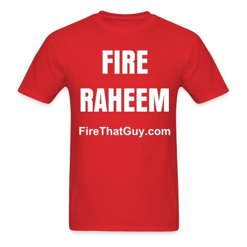 FIRE RAHEEM - Men's T-Shirt