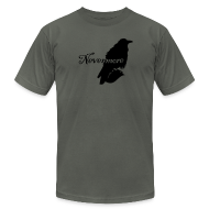 T-Shirts ~ Men's T-Shirt by American Apparel ~ Nevermore