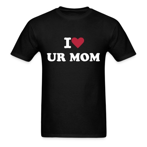 Heart UR MOM - Men's T-Shirt