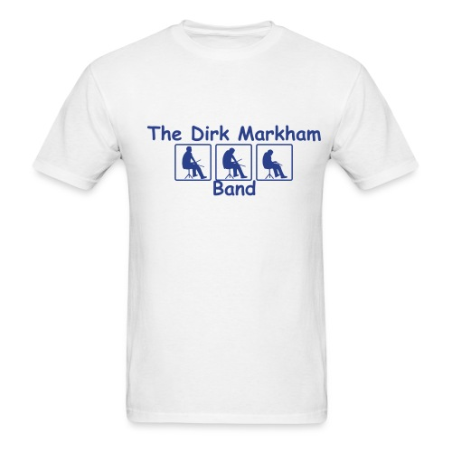 The Dirk Markham Band - Men's T-Shirt