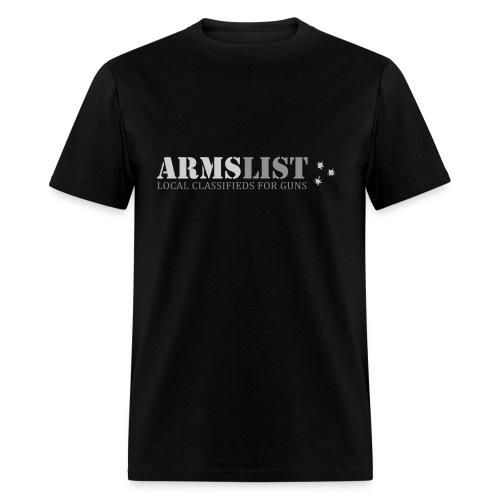 ARMSLIST Logo Tee - Men's T-Shirt