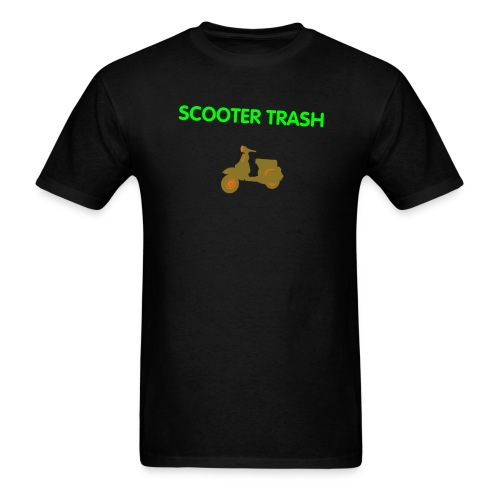 scooter trash1 - Men's T-Shirt