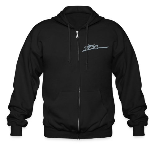 TDG - WW (back) - Men's Zip Hoodie