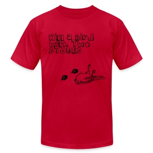 Kill a Bird with Two Stones - Men's Fine Jersey T-Shirt