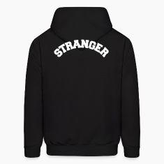 Black Stranger Danger Hoodies