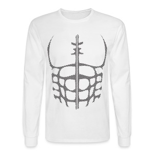 Halloween Longsleeve Muscle Tee Costume - Men's Long Sleeve T-Shirt