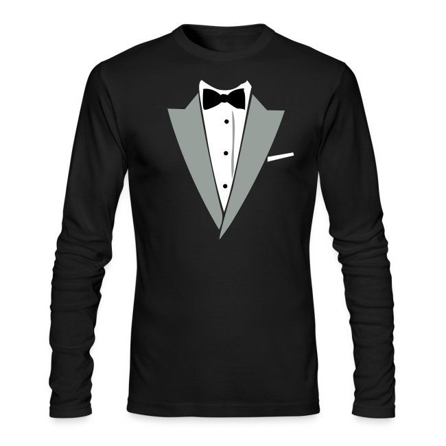 bb51de433a7 Halloween Formal Bow Tie and Suit T-shirt Costume