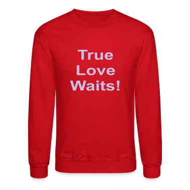 Red true_love_waits_101 Long Sleeve Shirts