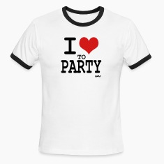 i love to party by wam T-shirts (manches courtes)