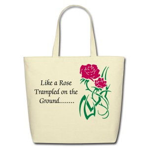 Like a Rose Tote  - Eco-Friendly Cotton Tote