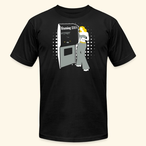 Gaming2001 (silver) - Men's Fine Jersey T-Shirt