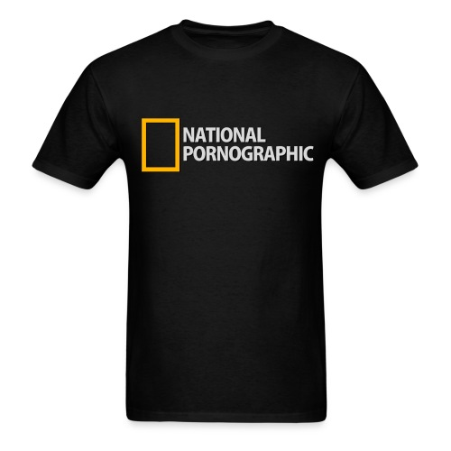 National Pornographic - Men's T-Shirt
