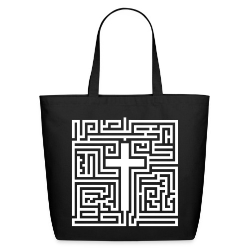 Maze Cross - Eco-Friendly Cotton Tote