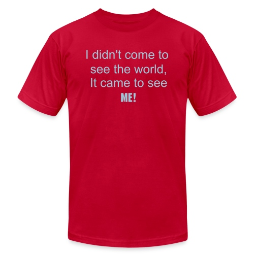 To see the world - Men's Fine Jersey T-Shirt