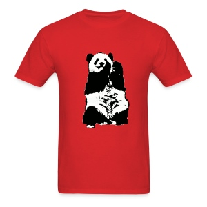 Power to the Panda - Men's T-Shirt