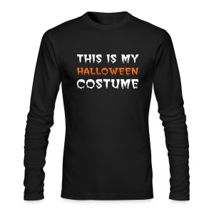 Halloween Costume T-shirt - Men's Long Sleeve T-Shirt by Next Level