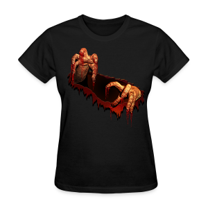 Women's Zombie Shirts Gory Halloween Scary Zombie Gifts - Women's T-Shirt