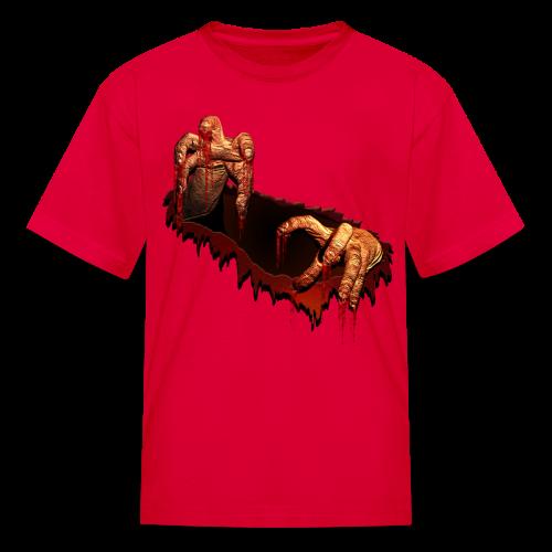 Kid's Zombie Shirts Gory Halloween Scary Zombie Gifts - Kids' T-Shirt
