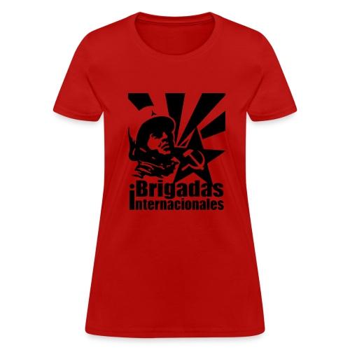 Spanish Civil War International Brigades Women's Tee - Women's T-Shirt