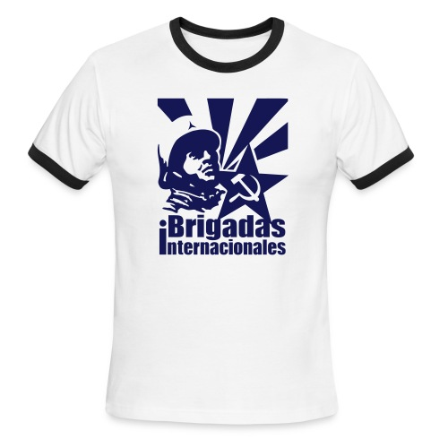 Spanish Civil War International Brigades Ringer Tee - Men's Ringer T-Shirt