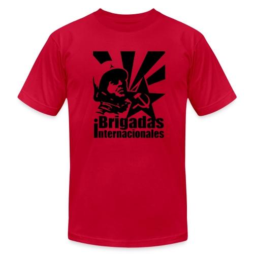 Spanish Civil War International Brigades Jersey Tee - Men's Fine Jersey T-Shirt