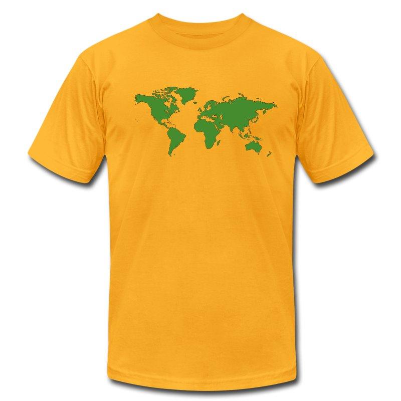 World Map T Shirt Spreadshirt