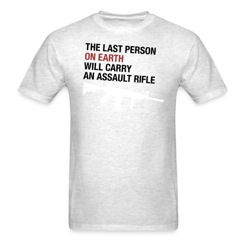 The Last Person on Earth - Men's T-Shirt