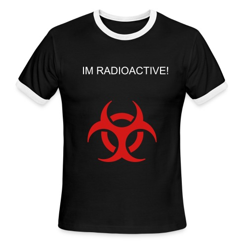 Radioactive - Men's Ringer T-Shirt