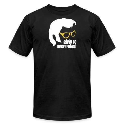 Elvis is Overrated - Men's Fine Jersey T-Shirt