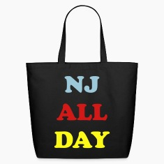 Black nj_all_day_3_colors Bags
