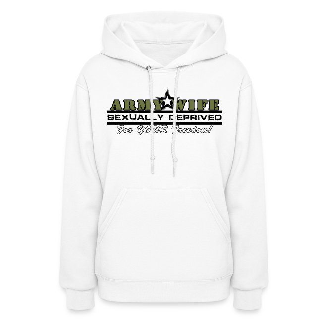 SEXUALLY DEPRIVED (green) HOODIE