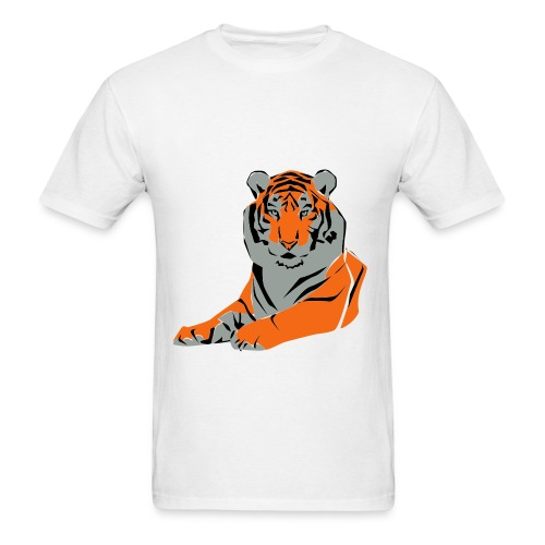 tiger eye - Men's T-Shirt