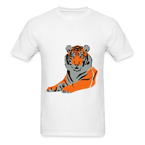 tiger eye - Men's T-Shirt