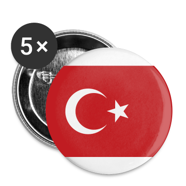 White Turkey Buttons