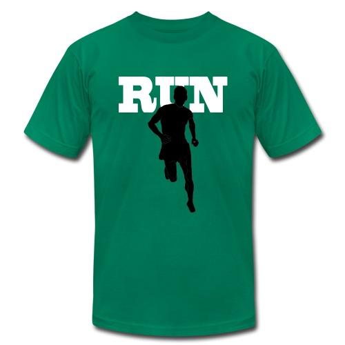 RUN - Men's Fine Jersey T-Shirt