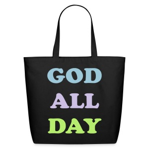 God All Day - Eco-Friendly Cotton Tote