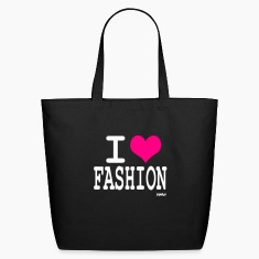 Black i love fashion by wam Bags