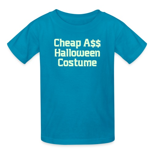 Cheap Ass Halloween Costume - Kids' T-Shirt