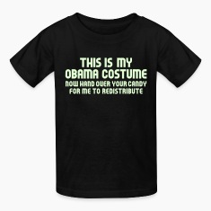 Black Obama Costume Kids' Shirts