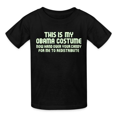 This Is My Obama Costume - Kids' T-Shirt