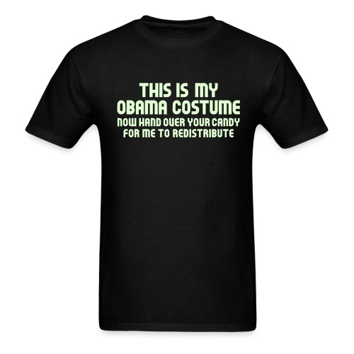 This Is My Obama Costume - Men's T-Shirt