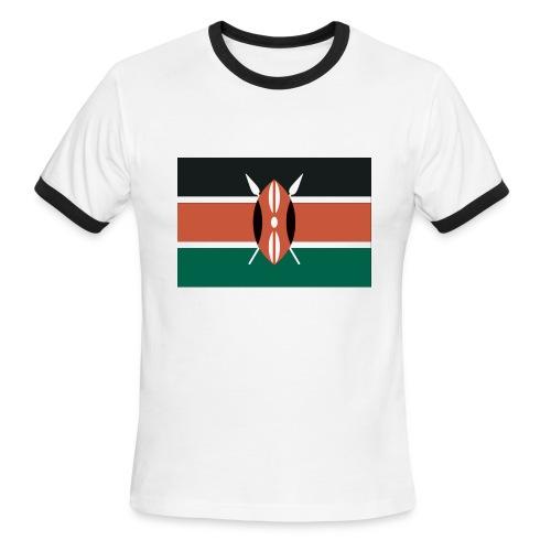 Kenya Flag Shirt - Men's Ringer T-Shirt