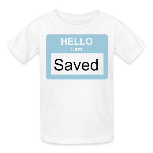 Children's I'm Saved Shirt - Kids' T-Shirt