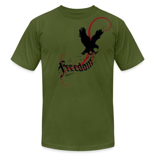 Freedom - Eagle - Men's Fine Jersey T-Shirt